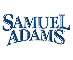 Samuel Adams blue text logo