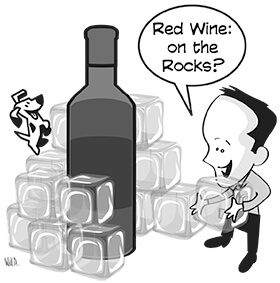 Wine Geek – Red Wine on the Rocks