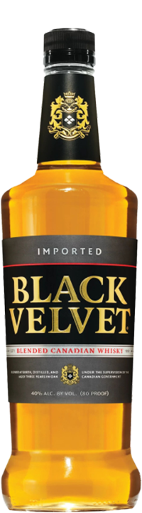 Black Velvet Canadian Whiskey - Canadian Whisky