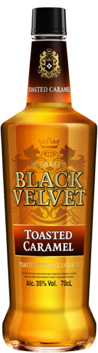 Black Velvet Canadian Whiskey - Toasted Caramel