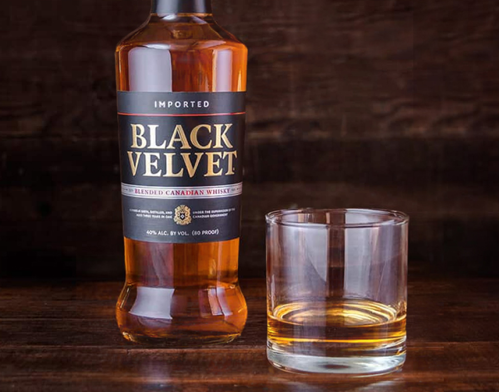 Black Velvet Canadian Whiskey - Blended Canadian Whisky