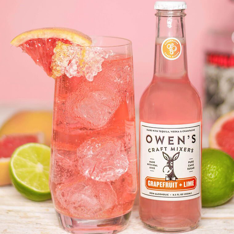 Owen's Craft Mixers - Grapefruit + Lime