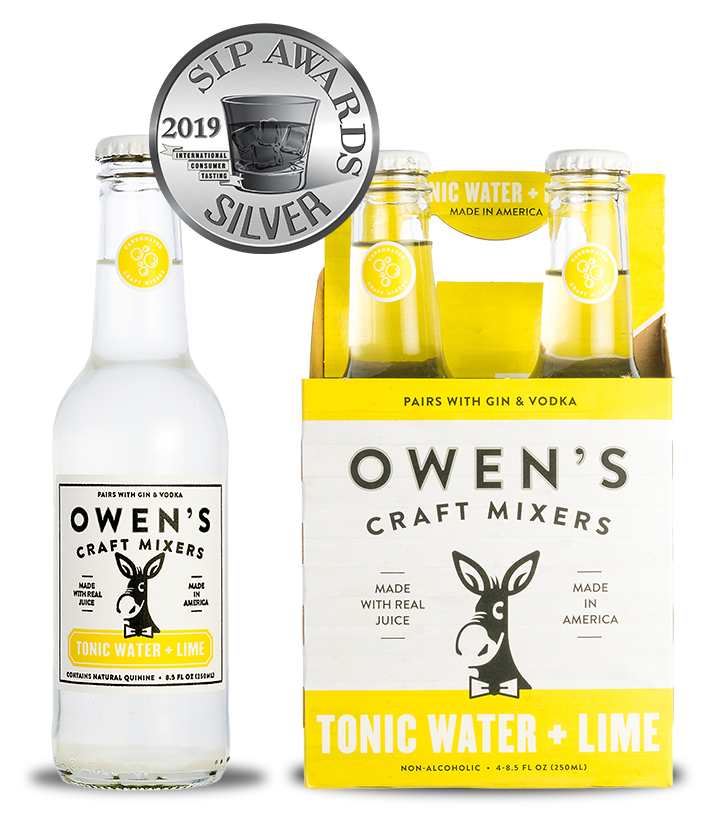 Owen's Craft Mixers - Tonic Water + Lime