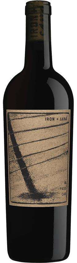The product image for Iron + Sand Cabernet Sauvignon